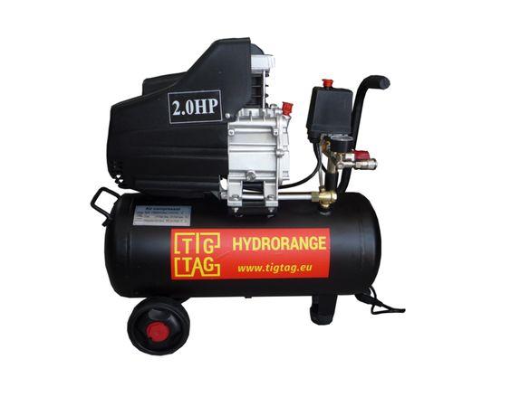 Компресор 24 литра за сгъстен въздух с дебит 188 литра в минута монофа