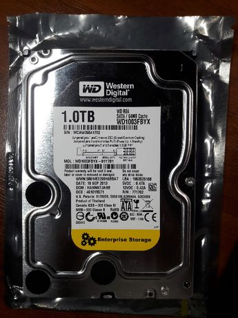 Hard Disk WD RE4 1TB + Cooler HDD