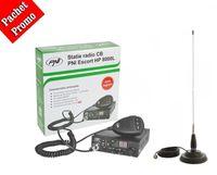 Statie PNI 8000L/8001L-antena 145cm-suport-magnetic-calibrare-gratuita