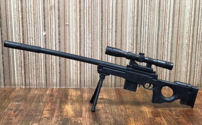 Sniper Luneta L96 Airsoft Puternic Nou!