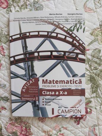 Matematica probleme si exerciții clasa a 10-a
