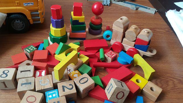 Наборы кубиков кубики деревянные