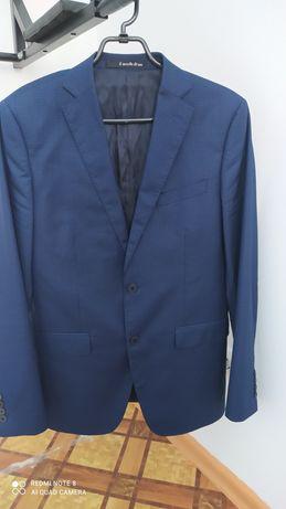 Костюм брючный , тёмно-синего цвета