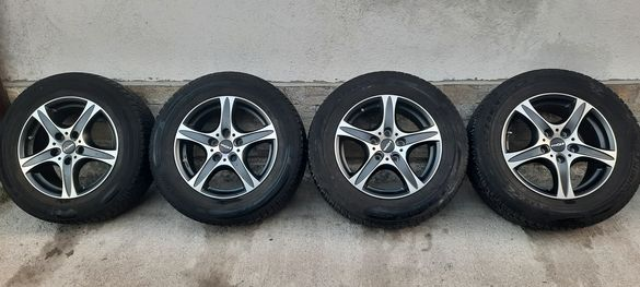 Джанти Ronal 17 цола , 5х130 , 7.5j , et55 235/65/17 Vw , Porsche