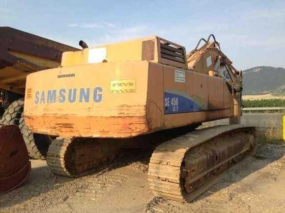 Dezmembrez excavator Samsung  model SE 450 LC-2 cu seria KAY0462