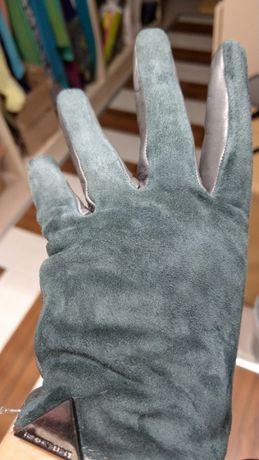 Бутикови кожени ръкавици Армани