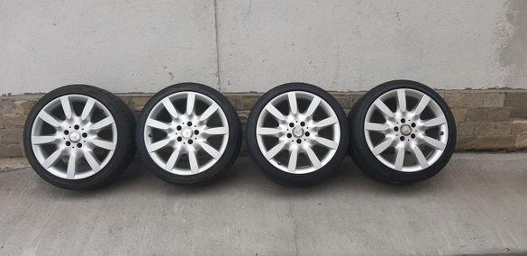 Джанти Mercedes 18цола, спорт пакет, 5х112 , 8.5j et43 на 9.5j et43