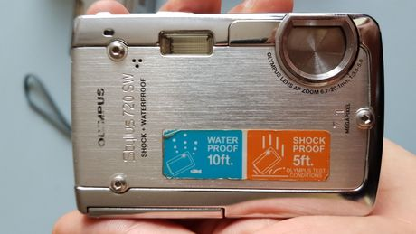 Подводен фотоапарат Olympus Stylus 720 SW