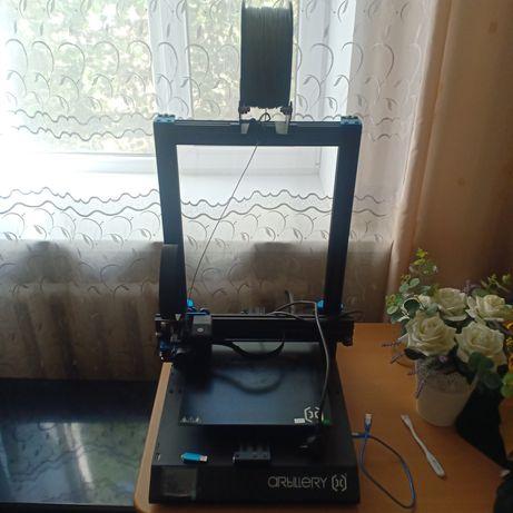 artillery 3d принтер