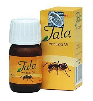Обезкосмяване с Тала масло от яйца на мравки ( Tala Ant Egg Oil )