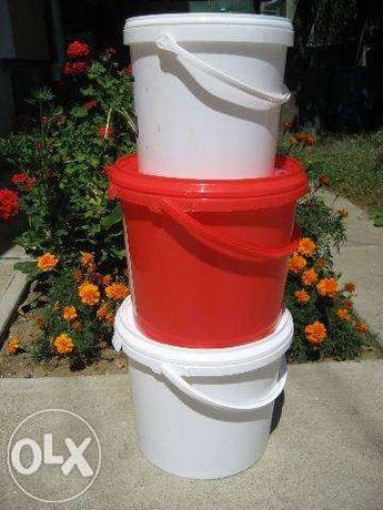 Galeti plastic 5 , 10, 20, 30 litri