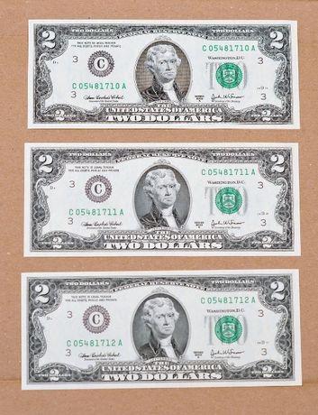 САЩ банкнота 2 долара