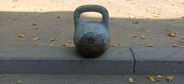 Гирия 32 кг СССР