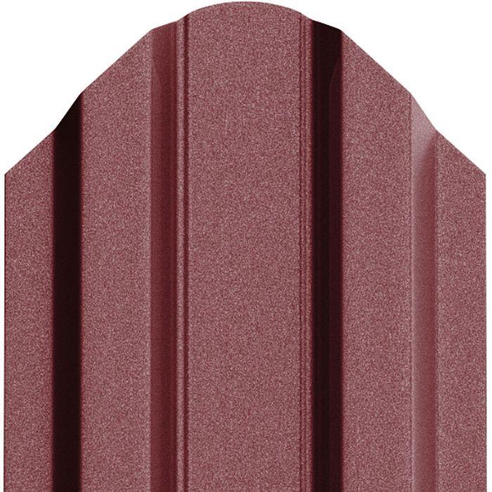 Producator sipca metalica vopsita mat visiniu si rosu maroniu - 0,45mm
