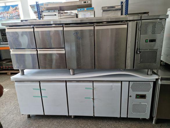 Хладилна маса 250см,за тави 60на40см,4500лв