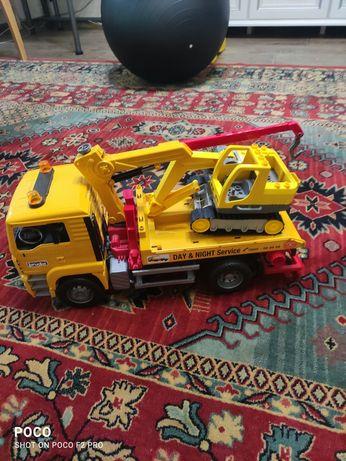 Большая игрушка машинка Брудер