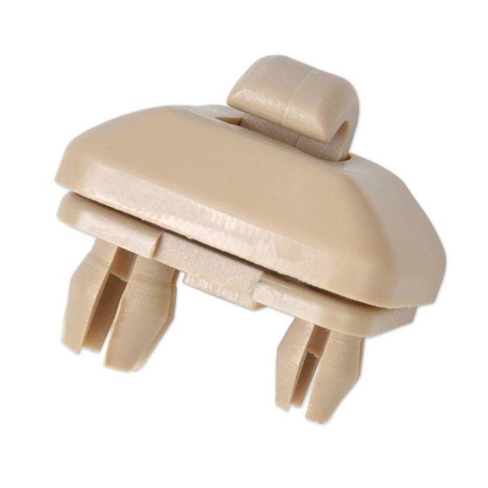 Clips / clema / suport parasolar Audi cod: 80E857562 culoare bej