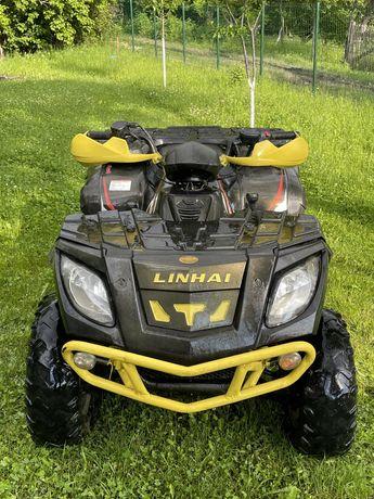 ATV linhai 300 4x4, fiscal
