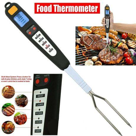 Дигитален термометър за месо с двойна вилица 2в1 - Atron