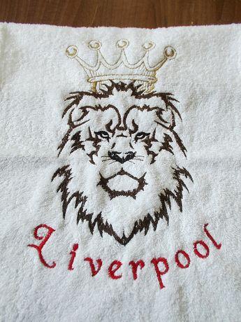 Ливърпул, Liverpool, YNWA, фен артикул, хавлия бродерия,