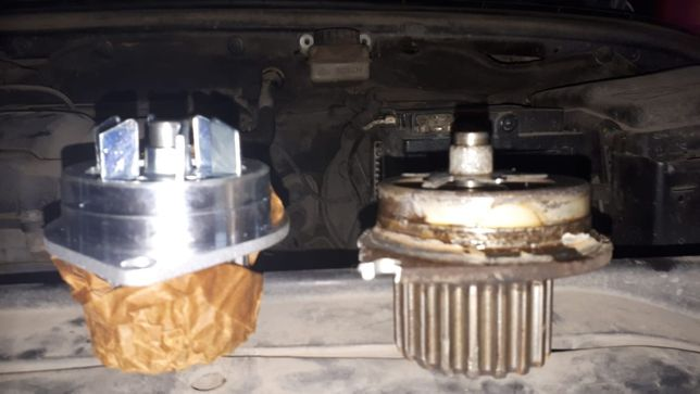 Замена термостата, помпы, радиатора охлаждения
