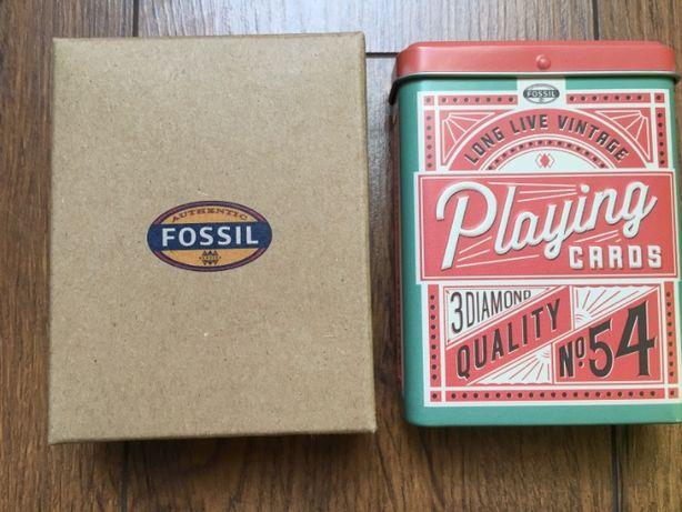 Carti de joc Vintage Fossil - mai multe cutii disponibile