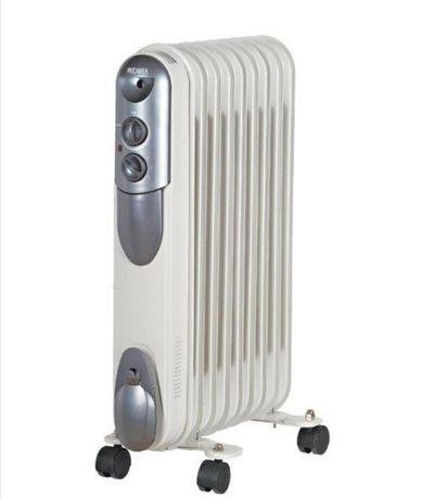 Масляный радиатор Ресанта 9 секций на 20 м2 Новый, Гарантия, Доставка