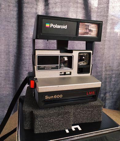 Aparat foto Polaroid Sun 600 LMS vintage recondiționat
