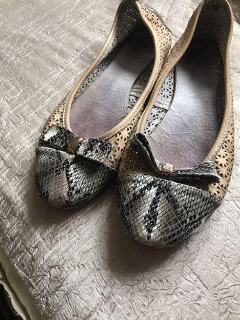Дамски обувки-естествена кожа