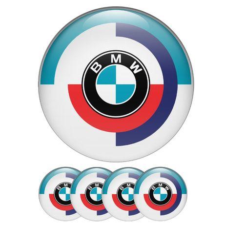 Силиконови стикери за капачки на джанти Бмв/BMW размери 40мм до 90м
