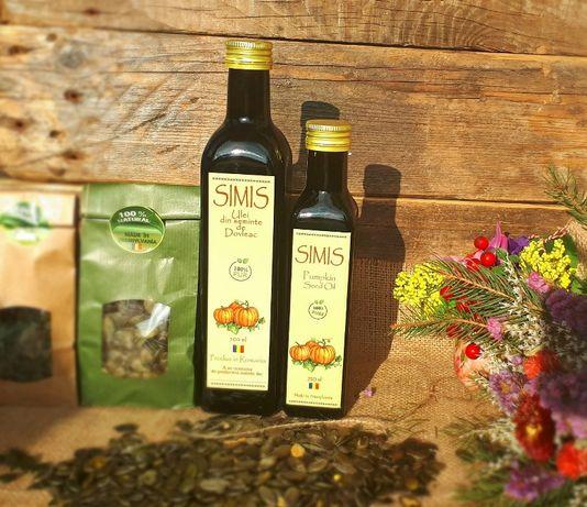 Ulei din semințe de dovleac de calitate superioara, recolta proprie