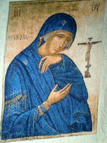 Гоблен - Скърбящата Богородица