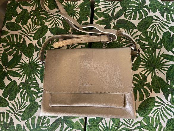 Чанта естествен косъм и друга - бронзова