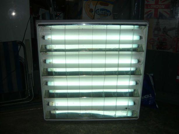 Corp iluminat 4 neoane Philips 65 x 65 cm