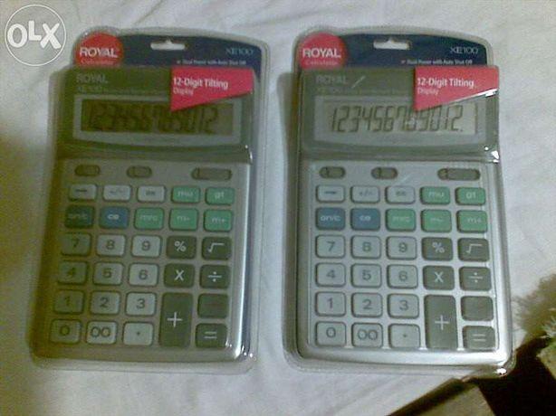 Calculator portabil, model : ROYAL USA XE 100