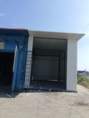 Vand hale metalice închisă cu panouri sandwich 777