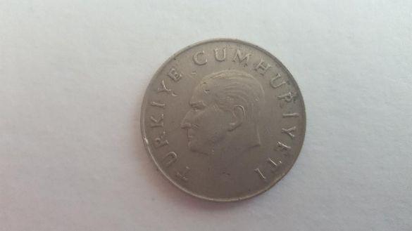 Монета 100 Турски Лири 1987г. / 1987 100 Turkish Lira Coin