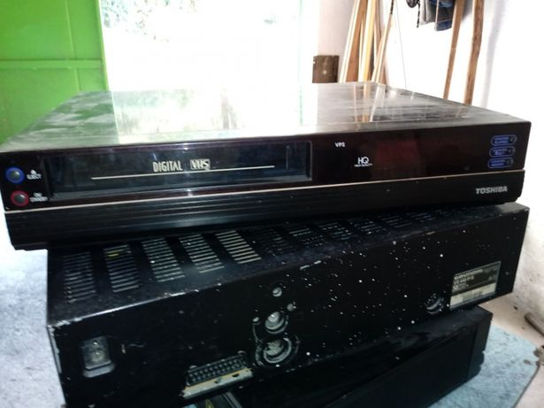 Video vhf doua video cu antenă si cd-player sony