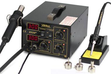 Satie de lipit cu aer cald,termocompensata,cu afisaj digital-YH-852d+