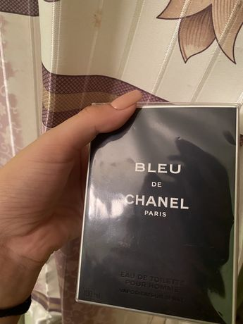 """Мужской парфюм """"bleu de Chanel paris"""" (оригинал) 100 мл"""