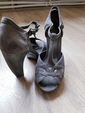 Sandale piele întoarsă 40