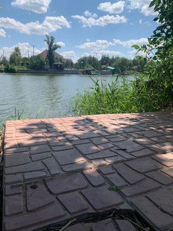 Продам дачный участок на берегу реки чаган!