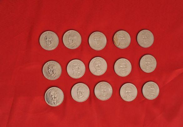 Монети -плакет на Шел