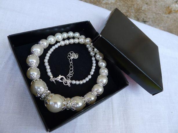 Șirag imitație perle