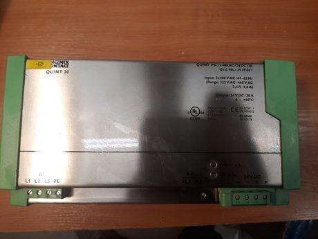 Захранващ блок PHOENIX CONTACT 380/24V DC 20A