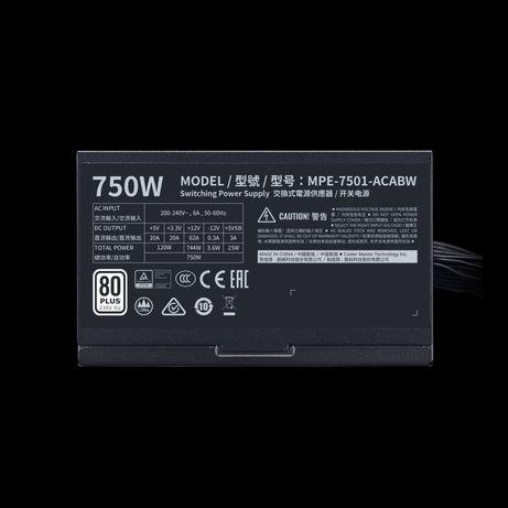 CoolerMaster MPE-7501-ACABW-EU 750Wt/ 80 Plus. Главный Разъем Питани