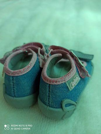 Бебешки сандали за момиченце