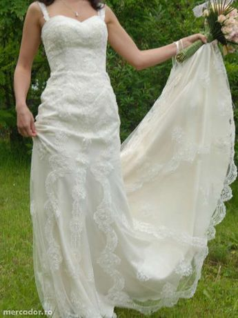 rochie de mireasa colectia La Sposa, cumparata din magazinul BienSavie