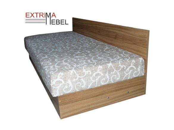 Единично легло с матрак и повдигащ механизъм