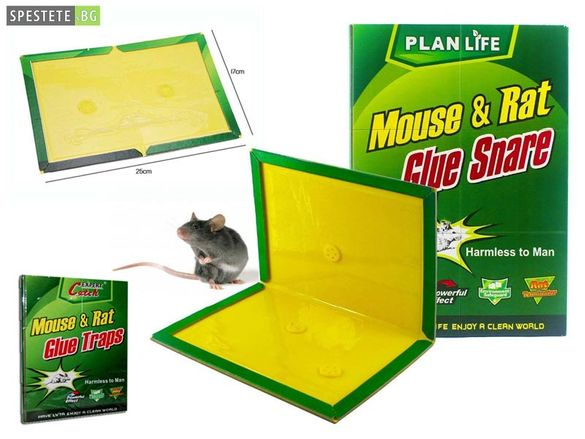 Капан за мишки и плъхове